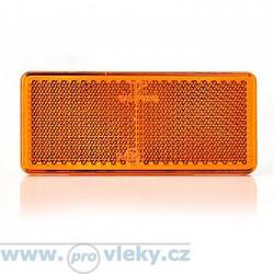 Odrazka UP 96x42mm oranžová samolepiaca