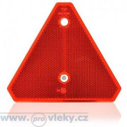 Odrazka červená UT125 trojúhelník