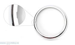 Dekorativní chromový kroužek pro svítilnu W95