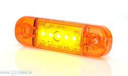 Poziční svítilna W97.2 oranžová LED