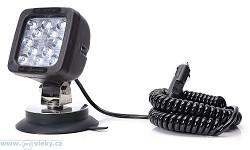 Pracovní lampa W82 LED; magnetické uchycení; do autozásuvky