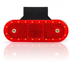 Poziční svítilna červená 535Z LED 20 diod