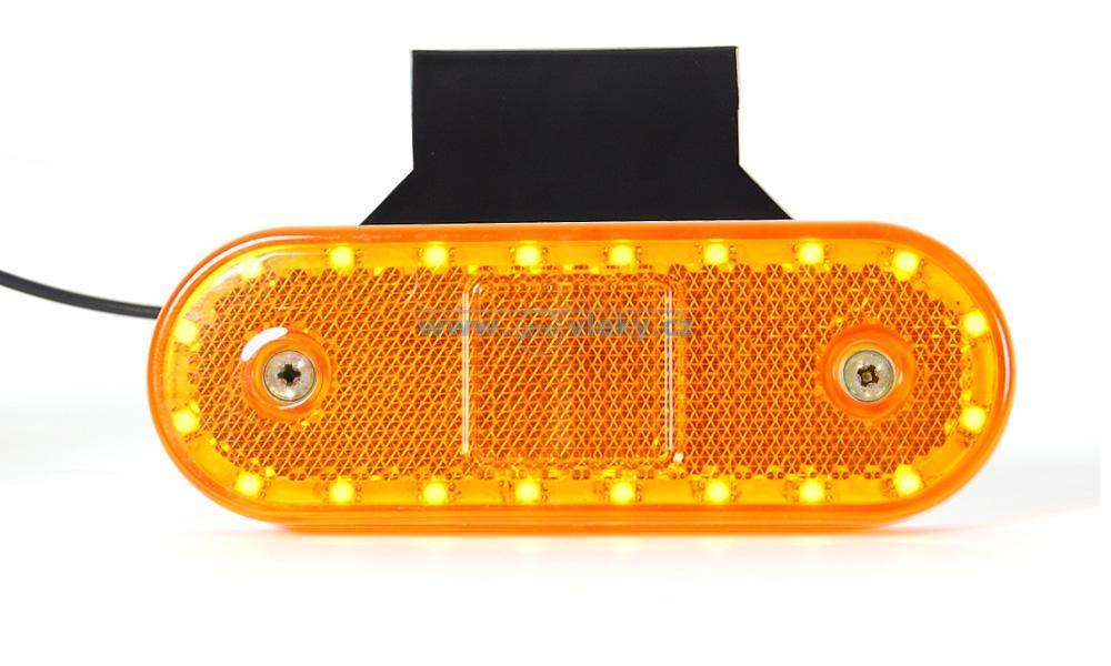 Poziční svítilna oranžová 534Z LED 20 diod - Náhradní díly - Poziční světla