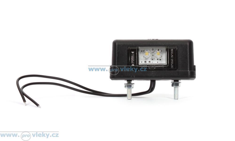 Osvětlení SPZ W52 LED černé