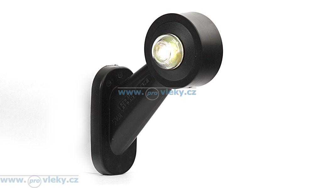 Obrysová svítilna lomená - tykadlo čb LED 140 - levá - Náhradní díly - Tykadlové osvětlení