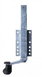 Výškově nastavitelná opěra 275-440mm 40mm