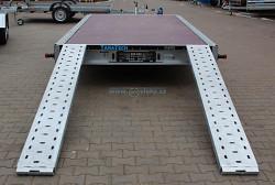 """Přívěs MARTZ GT 450 PLATO 2700kg 10""""kola 450x216cm"""