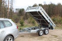 Přívěs Kipper 250/2 750kg nebrzděný