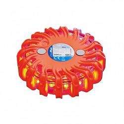 Výstražný disk 16LED oranžový