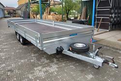 Přívěs UNK 2000x4000 valník 2700kg