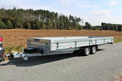 Přívěs UNK 2200x6000 valník 2700kg