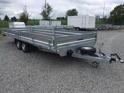 Přívěs UNK 2480x6500 valník 2700kg