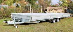 Přívěs UNK 2480x7200 valník 3500kg