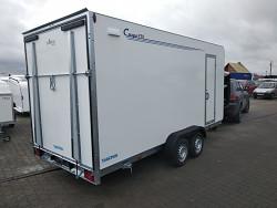 Přívěs skříňový Tomplan TFS 470T.01 2700kg 4700x2000 Rampa