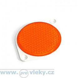 Odrazka FI 75mm oranžová