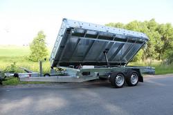 Přívěs Kipper 360/2 3500kg E 3-stranný sklápěč