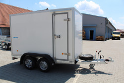Přívěs UNK PB2 03DB 2700kg skříň