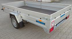 Přívěs FRACHT M 300x150 750kg listová pera