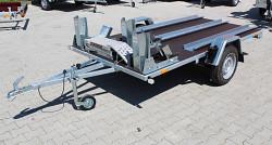 Přívěs FRACHT 300x150 3x MOTO 750kg listová pera