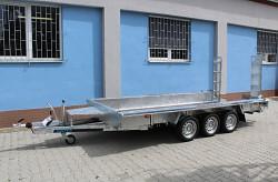 Přívěs MARTZ BAU 400/3 3500kg na přepravu bagrů