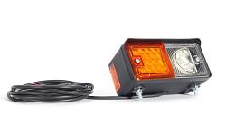 Přední svítilna LED 489 levá pro pracovní stroje
