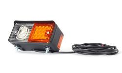 Přední svítilna LED 491 pravá pro pracovní stroje