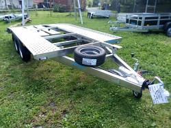 Přívěs Taurus Low Alu 406x200 cm 2,7t celohliníkový