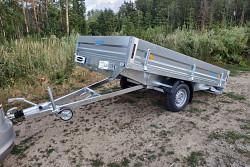 Přívěs UNK EX 1800x3000 sklopný 1300kg