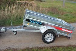 Přívěs Lider P205 205x132x39cm 750kg sklopný