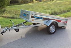 Přívěs Lider P233 233x132x39cm 750kg sklopný
