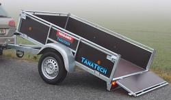 Přívěs Lider D200 201X133X40cm 750kg