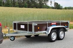 Přívěs Lider 2D250 251x133x40cm 750kg