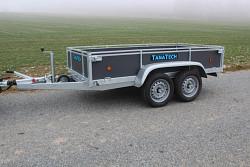 Přívěs Lider 2D250 251x133x40cm 1300kg překližkový