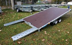 Přívěs na přepravu GT KIPPBAR 400 S 2700kg sklopný PLATO