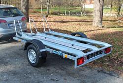 Přívěs UNK MOTO3 1500x2500 750kg, nebrzděný