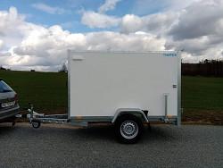 Přívěs skříňový překližkový Martz BOX 250 1300kg