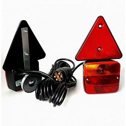Prodlužovací světelná sada magnet  6,5m, trojúhelníkem