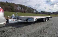 Přívěs Martz GT 500/3 Plato 3500kg 3-nápravový na auta