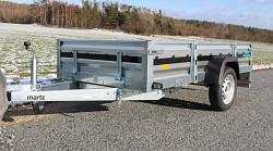 Přívěs NORD 263 STEEL 1250x2630mm 750Kg
