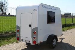 Přívěs Minikaravan MIDI Plus 250x125x150cm 750kg