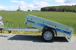Přívěs Faro Tractus 205x125x35 750kg sklopný