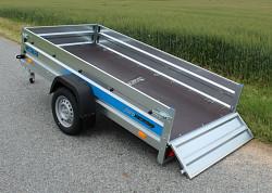 Přívěs Faro Tractus 263x125x35 750kg sklopný