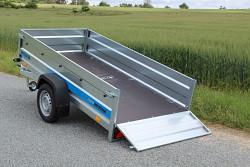 Přívěs Faro Tractus 263x125x45 750kg sklopný