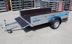 Přívěs Faro Tractus 263x150x35 750kg sklopný wood