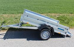Přívěs Zaslaw 205SU 205x122x35 750kg sklopný