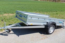 Přívěs Zaslaw 265SU 265x132x35 750kg sklopný