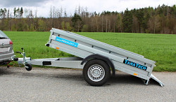 Přívěs Zaslaw 235SUH 235x132x35 1300kg  sklopný