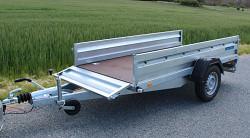 Přívěs Zaslaw 265SUH 265x132x35 1300kg sklopný