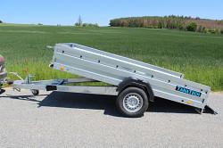 Přívěs Zaslaw 300SUH 300x150x35 1300kg sklopný