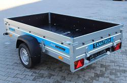 Přívěs Faro Tractus 250x140x35 750kg wood